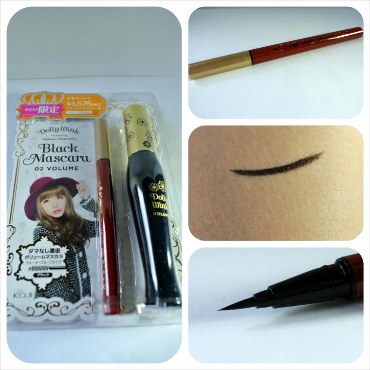 dollywink liquid eyeliner black complete