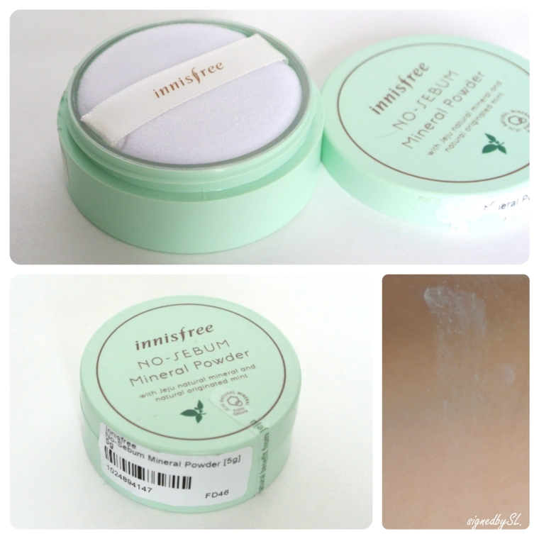 innisfree - no sebum mineral powder complete